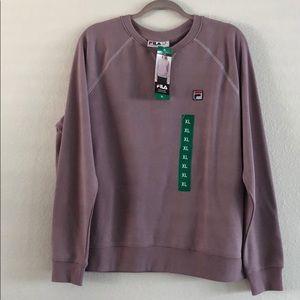Women's FILA crew neck sweatshirt